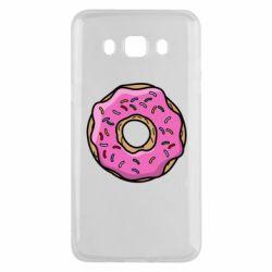 Чехол для Samsung J5 2016 Пончик Гомера