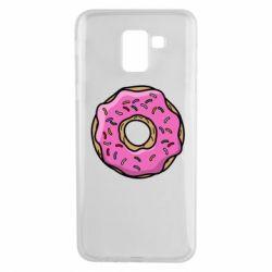 Чехол для Samsung J6 Пончик Гомера
