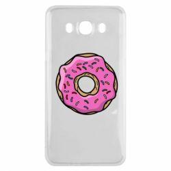Чехол для Samsung J7 2016 Пончик Гомера
