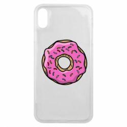 Чехол для iPhone Xs Max Пончик Гомера