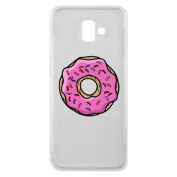 Чехол для Samsung J6 Plus 2018 Пончик Гомера