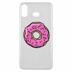 Чехол для Samsung A6s Пончик Гомера