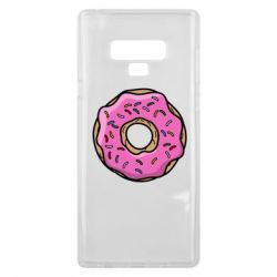 Чехол для Samsung Note 9 Пончик Гомера