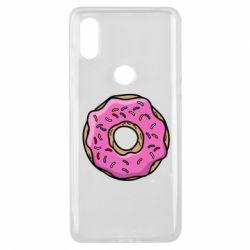 Чехол для Xiaomi Mi Mix 3 Пончик Гомера