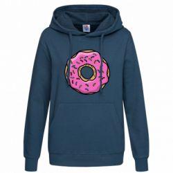 Женская толстовка Пончик Гомера - FatLine