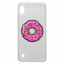 Чехол для Samsung A10 Пончик Гомера