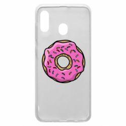 Чехол для Samsung A20 Пончик Гомера