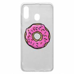 Чехол для Samsung A30 Пончик Гомера