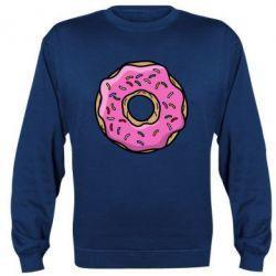 Реглан (свитшот) Пончик Гомера - FatLine