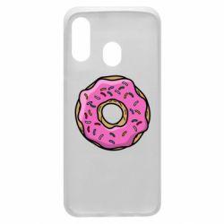 Чехол для Samsung A40 Пончик Гомера
