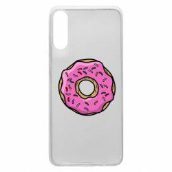 Чехол для Samsung A70 Пончик Гомера