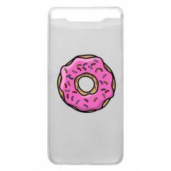 Чехол для Samsung A80 Пончик Гомера