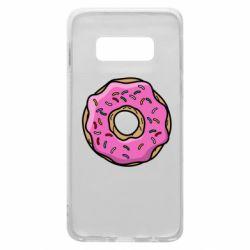 Чехол для Samsung S10e Пончик Гомера