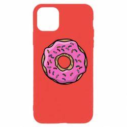 Чехол для iPhone 11 Pro Пончик Гомера