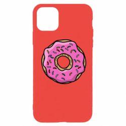 Чехол для iPhone 11 Pro Max Пончик Гомера