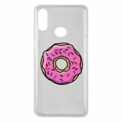 Чехол для Samsung A10s Пончик Гомера