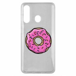 Чехол для Samsung M40 Пончик Гомера