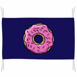 Флаг Пончик Гомера