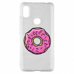 Чехол для Xiaomi Redmi S2 Пончик Гомера