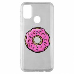 Чехол для Samsung M30s Пончик Гомера