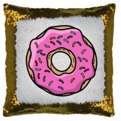 Подушка-хамелеон Пончик Гомера