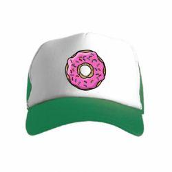 Детская кепка-тракер Пончик Гомера