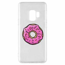 Чехол для Samsung S9 Пончик Гомера