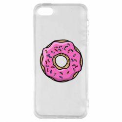 Чехол для iPhone5/5S/SE Пончик Гомера