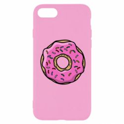 Чехол для iPhone 8 Пончик Гомера