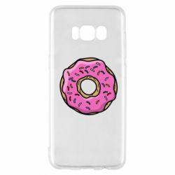 Чехол для Samsung S8 Пончик Гомера
