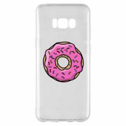 Чехол для Samsung S8+ Пончик Гомера