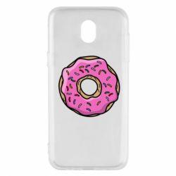 Чехол для Samsung J5 2017 Пончик Гомера