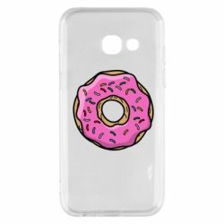 Чехол для Samsung A3 2017 Пончик Гомера