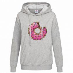 Женская толстовка Пончик