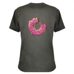 Камуфляжная футболка Пончик - FatLine