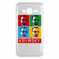 Чохол для Samsung J3 2016 Pop man krymski