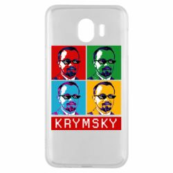 Чохол для Samsung J4 Pop man krymski
