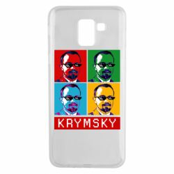 Чохол для Samsung J6 Pop man krymski