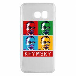 Чохол для Samsung S6 EDGE Pop man krymski