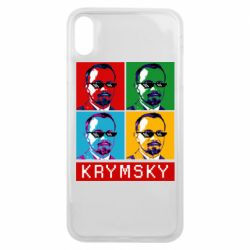 Чохол для iPhone Xs Max Pop man krymski