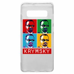 Чохол для Samsung S10+ Pop man krymski