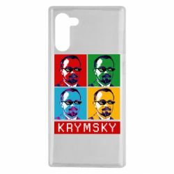 Чохол для Samsung Note 10 Pop man krymski