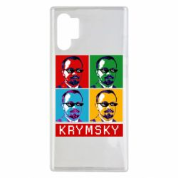 Чохол для Samsung Note 10 Plus Pop man krymski