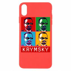 Чохол для iPhone X/Xs Pop man krymski