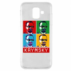Чохол для Samsung A6 2018 Pop man krymski