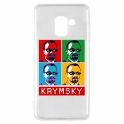 Чохол для Samsung A8 2018 Pop man krymski