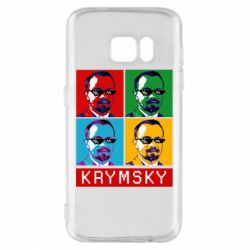 Чохол для Samsung S7 Pop man krymski