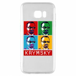 Чохол для Samsung S7 EDGE Pop man krymski