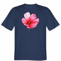 Мужская футболка Poppy flower