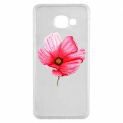 Чехол для Samsung A3 2016 Poppy flower